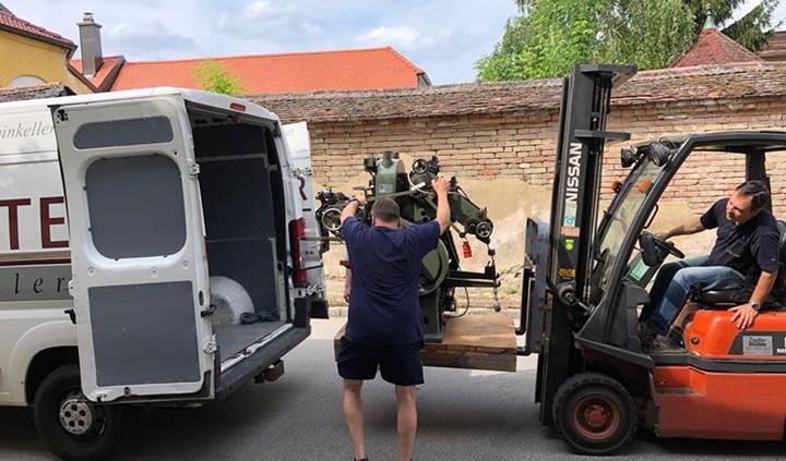 Die Übersiedelung von Haugsdorf nach Ret